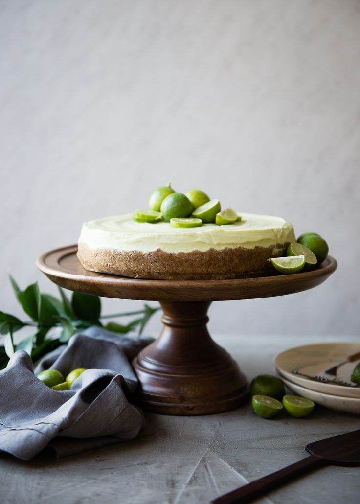 This Raw Key Lime Pie Is the Perfect Summer Dessert