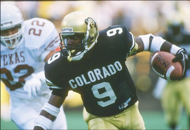 Mike Pritchard #9 Colorado Buffaloes WR