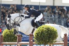 Cella- this mare is new to Ben Maher's string. She won the London GCT Grand Prix!