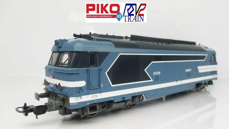 PIKO 59010 HO*LOCOMOTIVE DIESEL BB 67479 SNCF époIV LOGO NOUILLE NEUVE