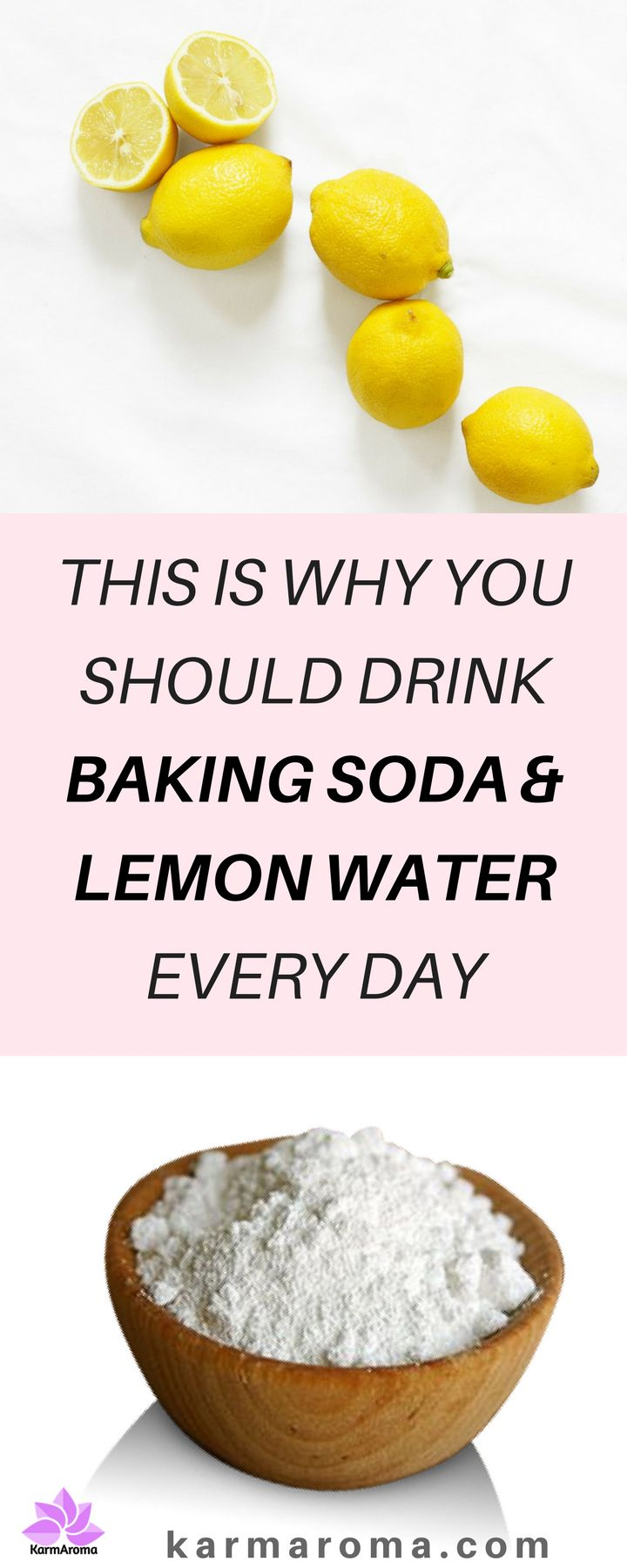 THIS IS WHY YOU SHOULD DRINK BAKING SODA & LEMON WATER EVERY DAY