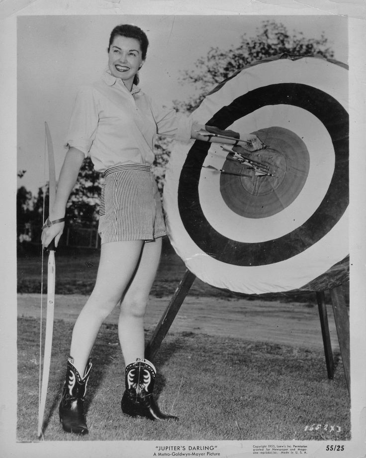 Esther Williams Leggy Archery