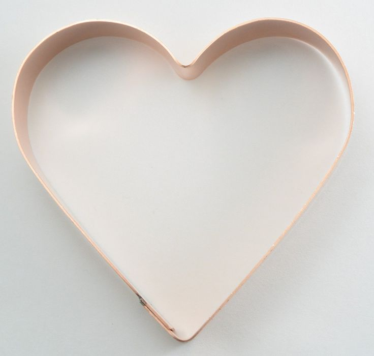 3 1/2 Simple Heart Cookie Cutter >>> New and awesome product awaits you, Read it now : : Baking Accessories