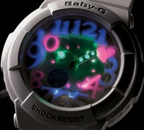 casio baby-g super zegarek damski #watches #casio