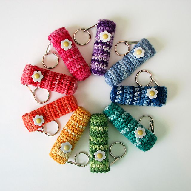 Chapstick holder Great idea for long winter months. Great teacher gifts for christmas!
