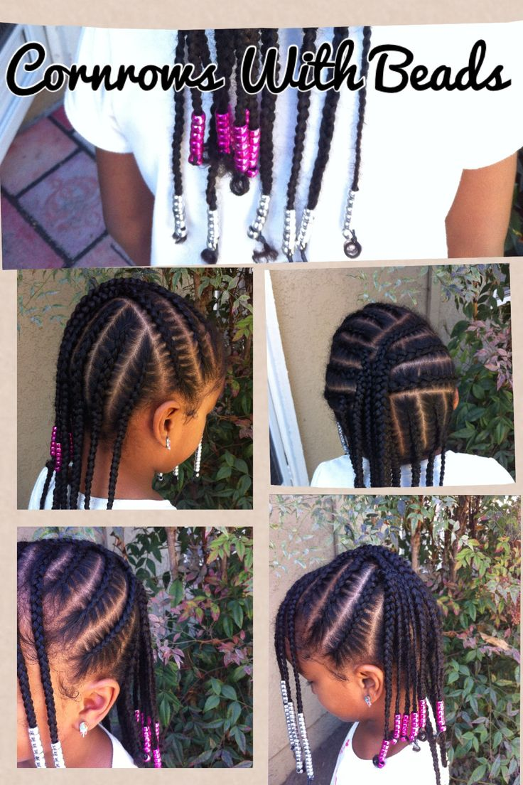 Cute hairstyle for kids