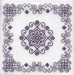 Blackwork motifs.  Original link is in Spanish, but there are a lot of photos.