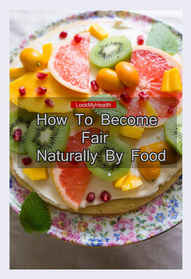 How To Become Fair Naturally By Food - Glowing and fair skin is what everybody wants to look smart and young. But bad food habits, no time to care and a lot #lookmyhealth #fairskin #skin #glowskin #foodsgoodforskin #skinglownaturally #faitskinnaturally #howtobecomefairbyfood #howbecomefairnaturally #howtogetglowingskin #health