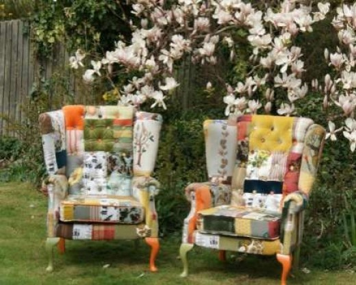 Kelly Swallow's Patchwork Chairs