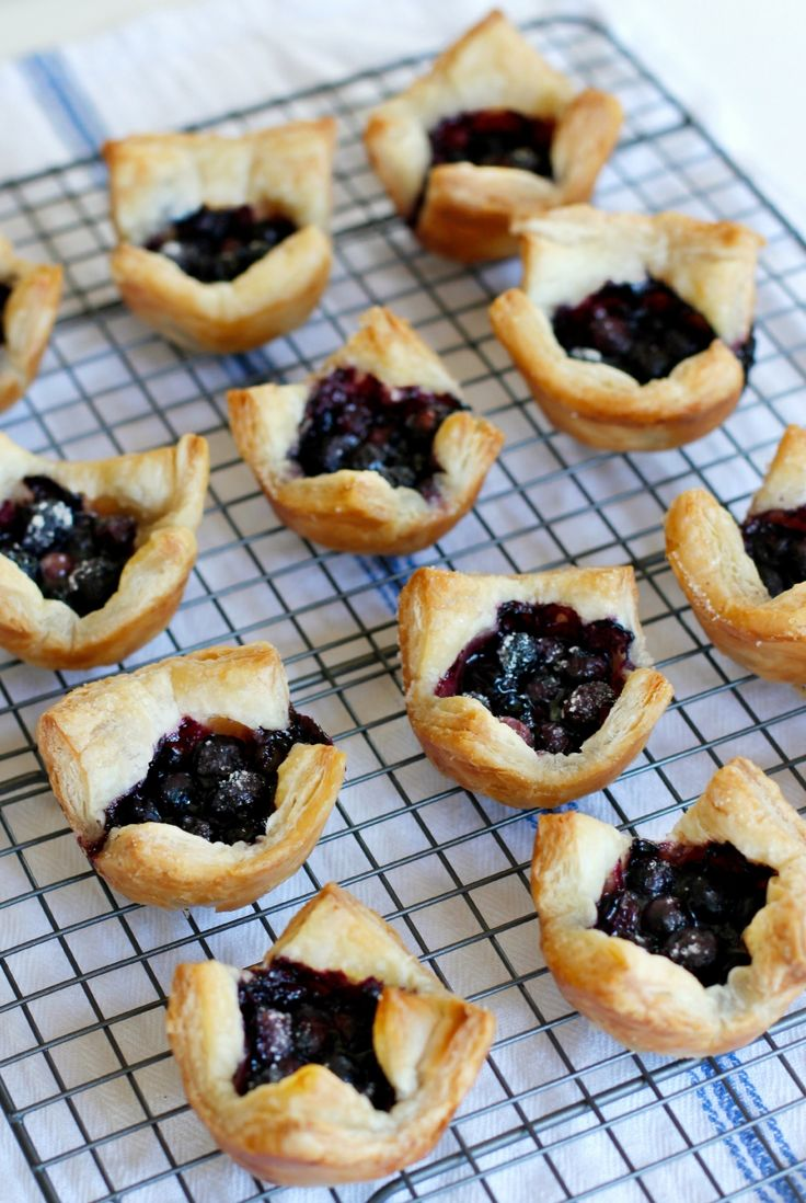 We baked these blueberry tarts in a muffin tin and they worked perfectly and tasted oh, so good. Perfect for little ones to help make and bake in the kitchen!