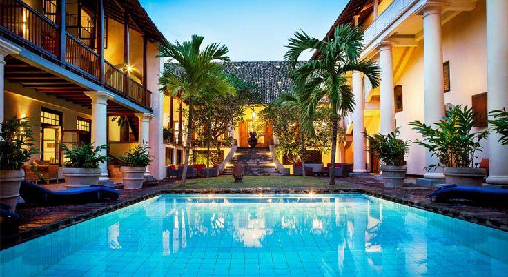 Galle Fort Hotel, Luxury Beach Hotel in Galle, Sri Lanka