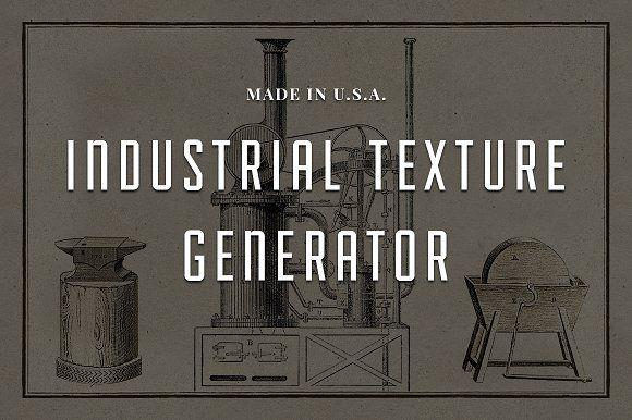 Industrial Texture Generator PSD by Adrian Pelletier on @creativemarket