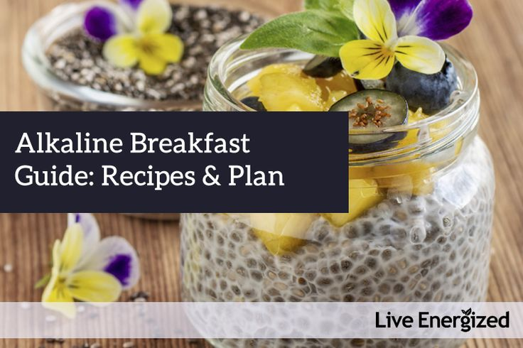 Tips, ideas and recipes to make the alkaline breakfast easy and enjoyable. Includes 4 alkaline breakfast recipes and more ideas.