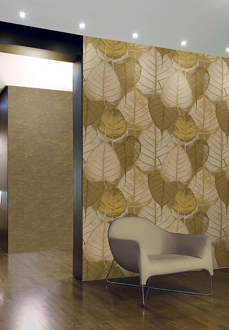 Batik: Oriental style with italian creativity. Luxury Wallcoverings and Wallpapers. Max Martini Home #iteriordesgin #madeinitaly