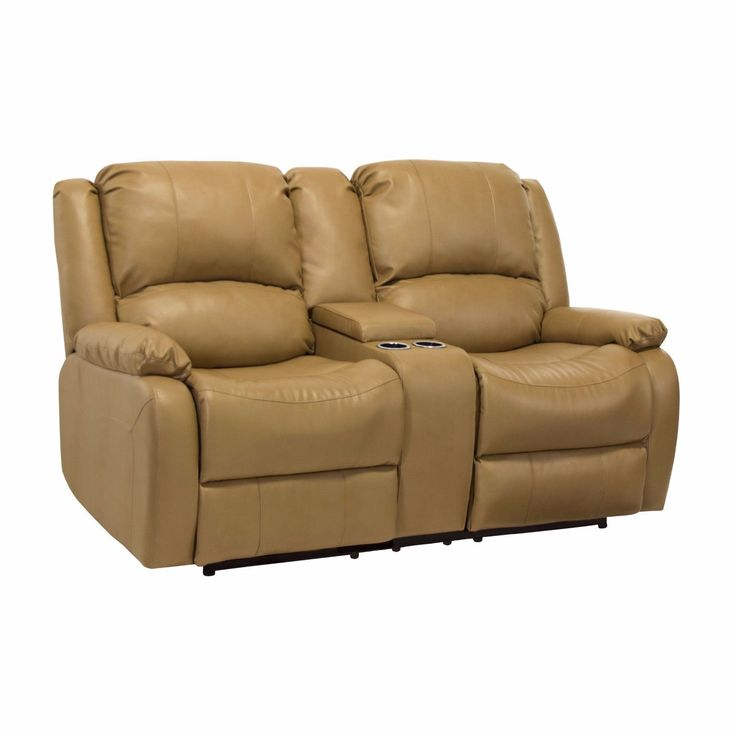 """awesome RecPro™ Charles 67"""" Double RV Zero Wall Hugger Recliner Sofa w/ Console Toffee Check more at https://aeoffers.com/product/home-and-garden/recpro-charles-67-double-rv-zero-wall-hugger-recliner-sofa-w-console-toffee/"""