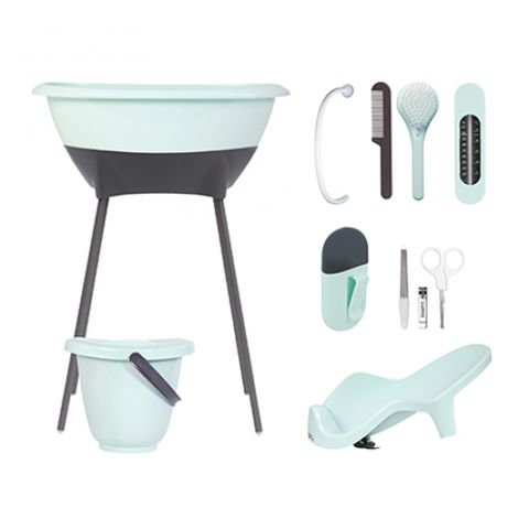 Misty Mint Bath Set. 2017 Best Baby Bath Tub