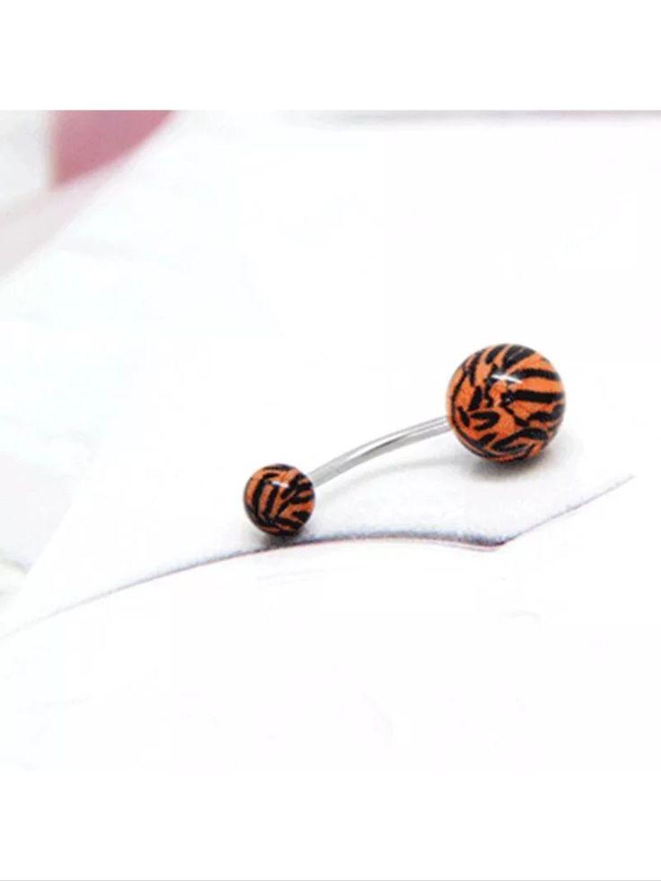 Tiger striped body jewelry