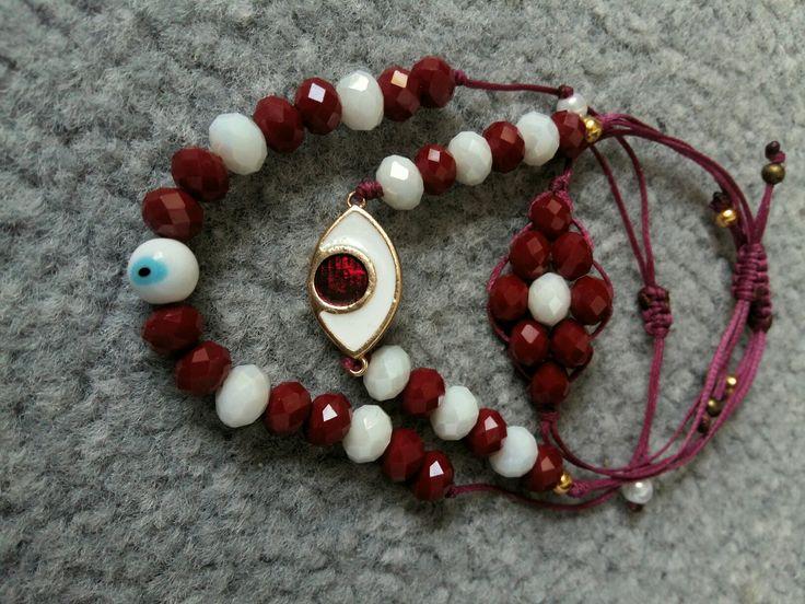 Χειροποίητα κοσμήματα Mary Angel μάτια