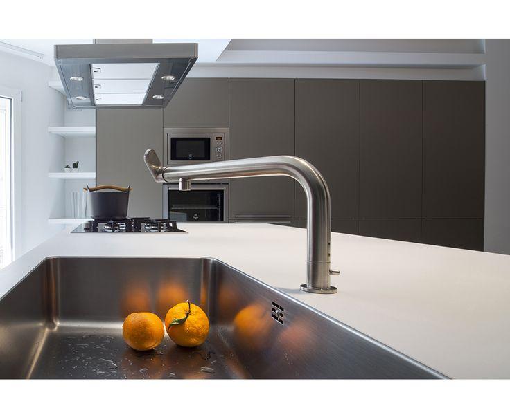 Casa CG Location Sicily bulthaup b3 system kitchen Architetto Giovanni Liborio Ferrara By Bulthaup Palermo Project by Chiarenza