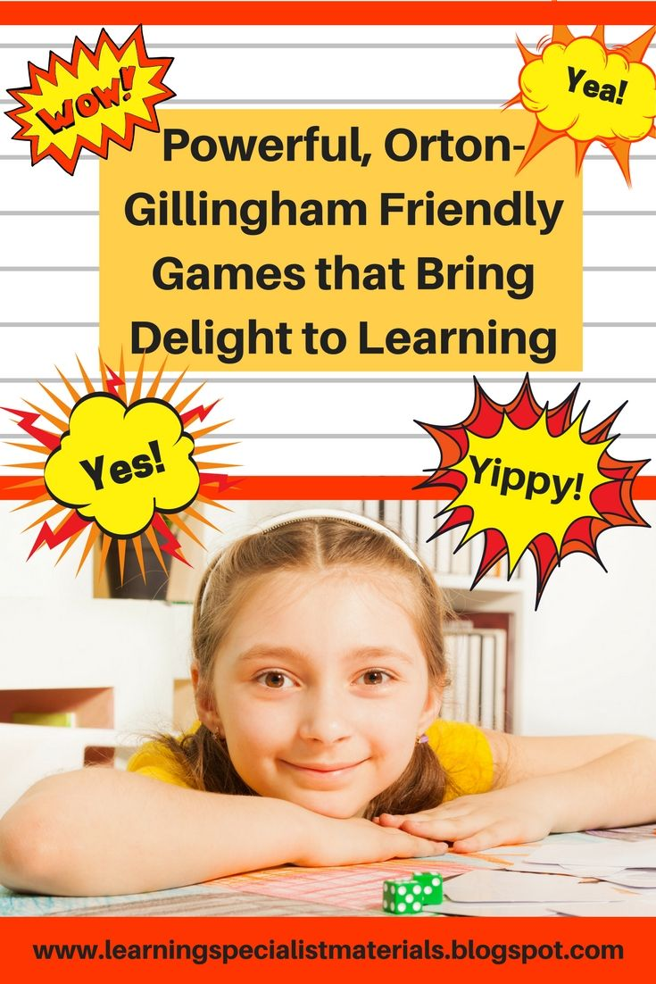 Learning Specialist and Teacher Materials - Good Sensory Learning: Powerful, Orton-Gillingham Friendly Games that Bring Delight to Learning