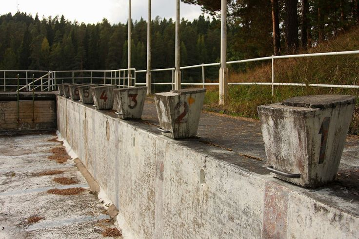 1952 Olympics Swimming Stadium — Lake Ahvenisto, Finland
