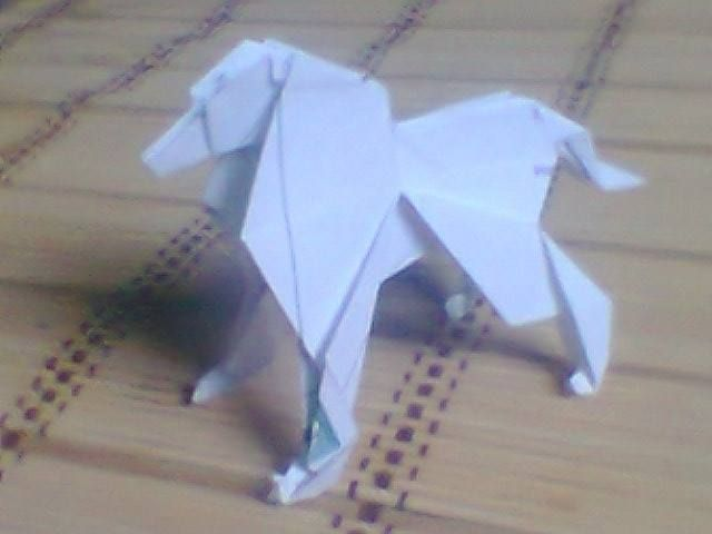 origami dog instructions printable