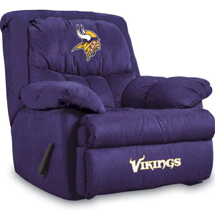 vikings bedroom set | Minnesota Vikings Home Team Recliners by Imperial USA - NFL