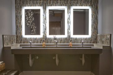 Commercial Bathroom Design Ideas, Pictures, Remodel, and Decor