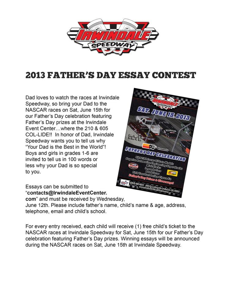 essays on fathers day Read this essay on fathers day come browse our large digital warehouse of free sample essays get the knowledge you need in order to pass your classes and more only.
