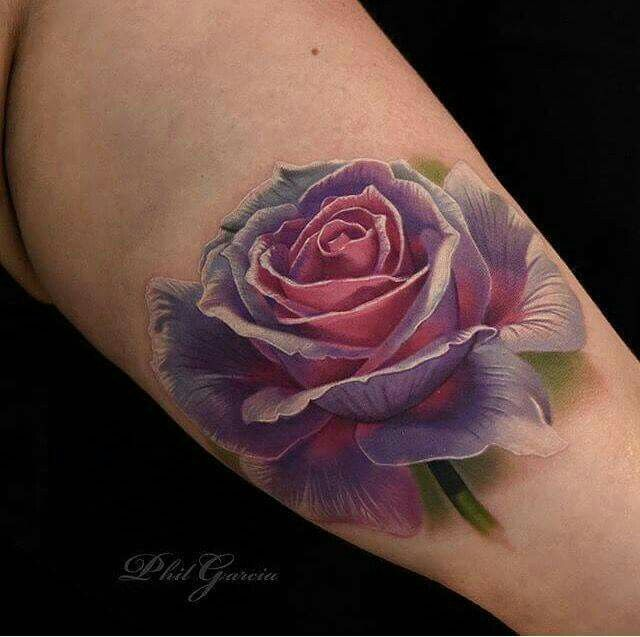Realistic Flower Tattoo Designs: 15 Best Images About Rose Tattoo Designs On Pinterest
