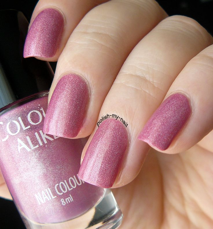 Colour Alike - 510 Wata Cukrowa #pink #nail
