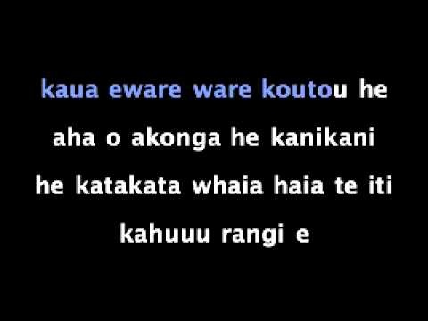 Our new Kapahaka song to the tune of 'Moves like Jagger'