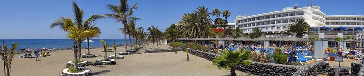 The fantastic 4 star VIK Hotel San Antonio Hotel in Lanzarote in the resort of Puerto Del Carmen is in a perfect location on the Playa de los Pocillos seafront. Hotel guests at the Hotel have access to the golden sandy beach and many local area facilities