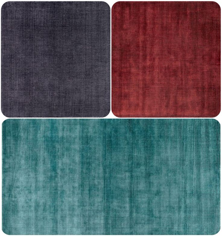 Loloi LUXE Aqua, Ruby & Aubergine colors  Get the look of sleek and sophisticated at once with our Luxe Collection from India. Living up to its name, Luxe is hand loomed of 100% viscose that shimmers effortlessly from every angle. For more #Solid #Area #Rugs check here: http://www.hfrugs.com/solid.html