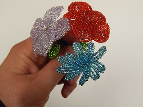 Discover Culture: French Beaded Flowers | CMIP 21