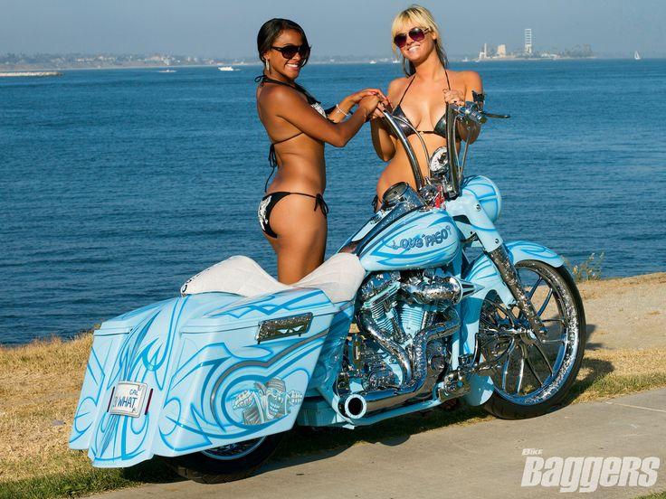 Binford's 2004 Harley-Davidson #Road #King. It puts out 200+hp.
