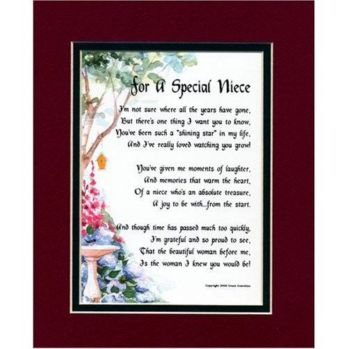 Niece Poems and Quotes | niece poem image search results | Crafts ...