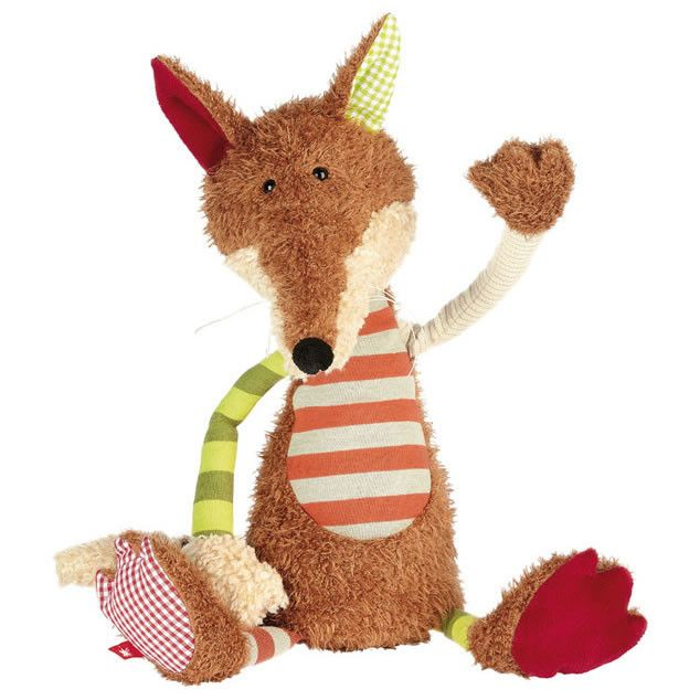 An entertaining companion for kids, our clever Sweety Fox by Sigikid makes a unique gift for little ones to cuddle and befriend. We love the fun, eclectic patterns and gentle expression. It's machine