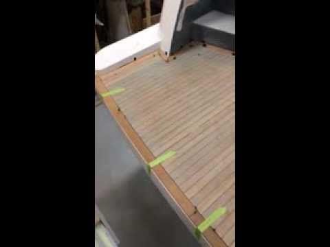 Teak Deck swimplatform