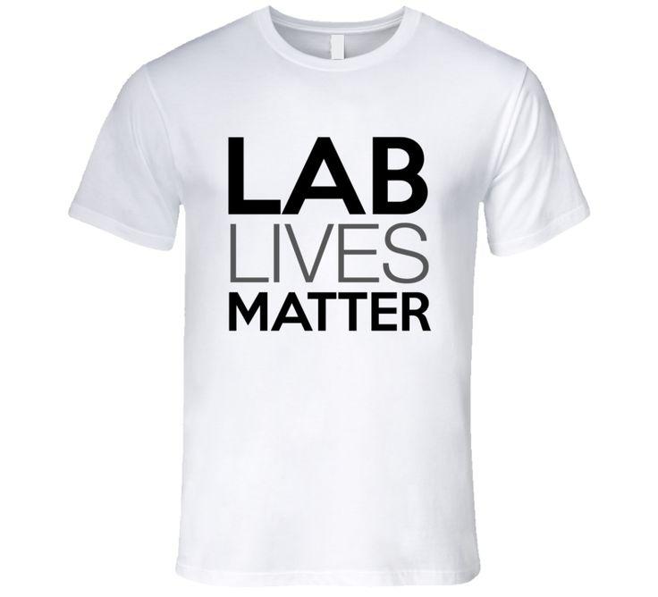 Lab Lives Matter Labrador Dog Lover T-Shirt Labrador Rescue T Shirt