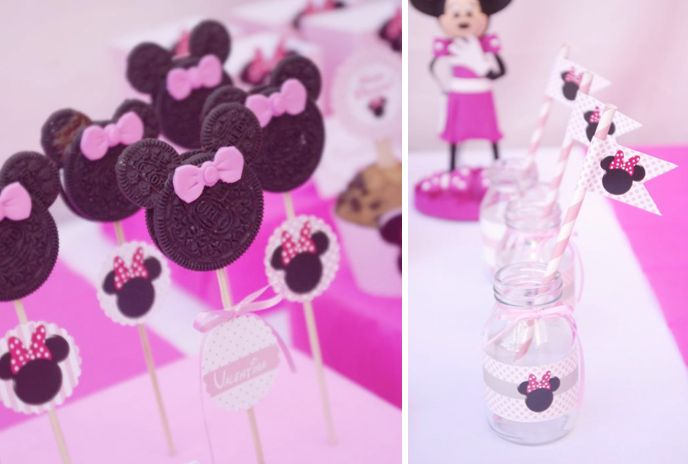 minnie mouse party ideas | Minnie Mouse Birthday Party Planning via Kara's Party Ideas - www ...