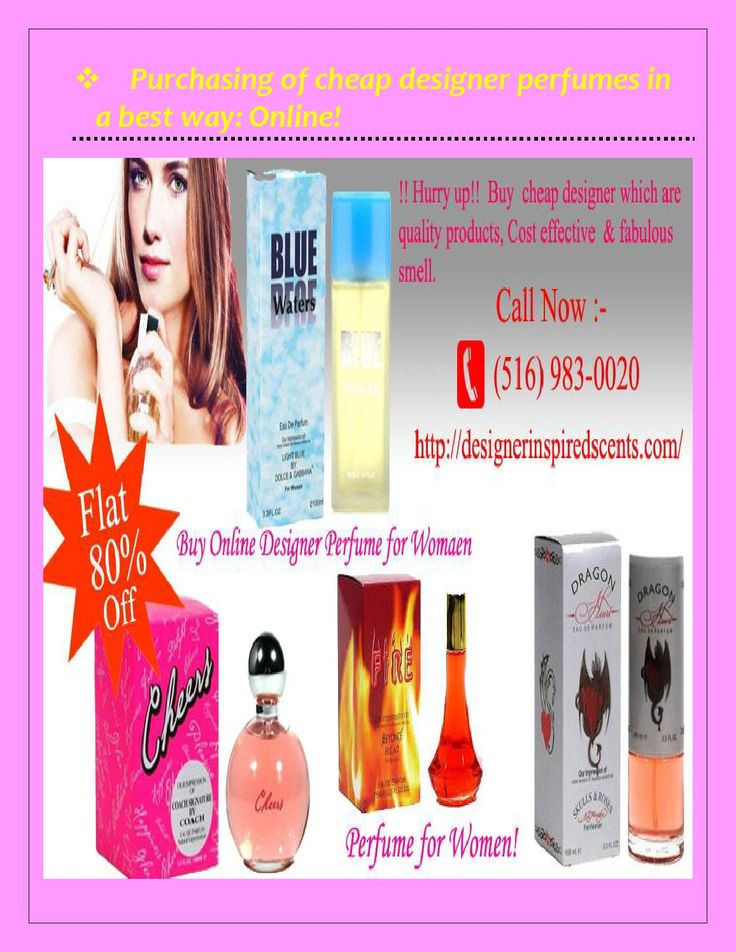 Purchasing of cheap designer perfumes in a best way  Designer Inspired Scents has come up with a most demanded product 'cheap designer perfumes'. Now people are curling towards the hobby of collecting different fragrances to much extent. But the perfumes usually come on expensive price tags which are not affordable every time to purchase for such as cheap perfume online, cheap cologne for men and cheap cologne online. So, it becomes a bit difficult to invest every time on purchasing designer…