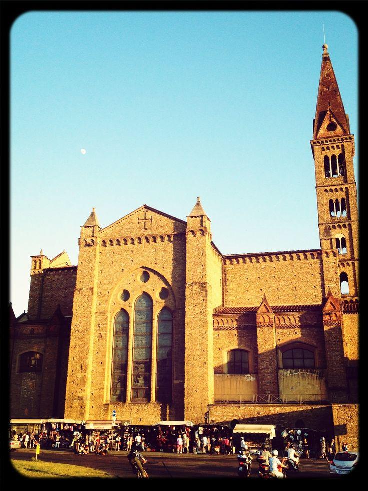 Santa Maria Novella,springtime sunset, Firenze