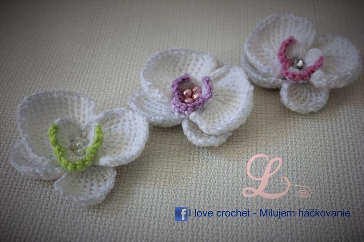 Video tutorial and crochet schemes how to crochet orchid, tunisian crochet.