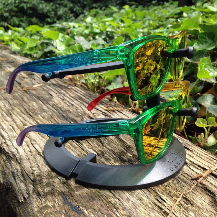 Two Oakley x Blends Frogskins - See more: http://www.oakleyforum.com/threads/time-to-release-the-froggys-a-wookies-collection.44315/page-4