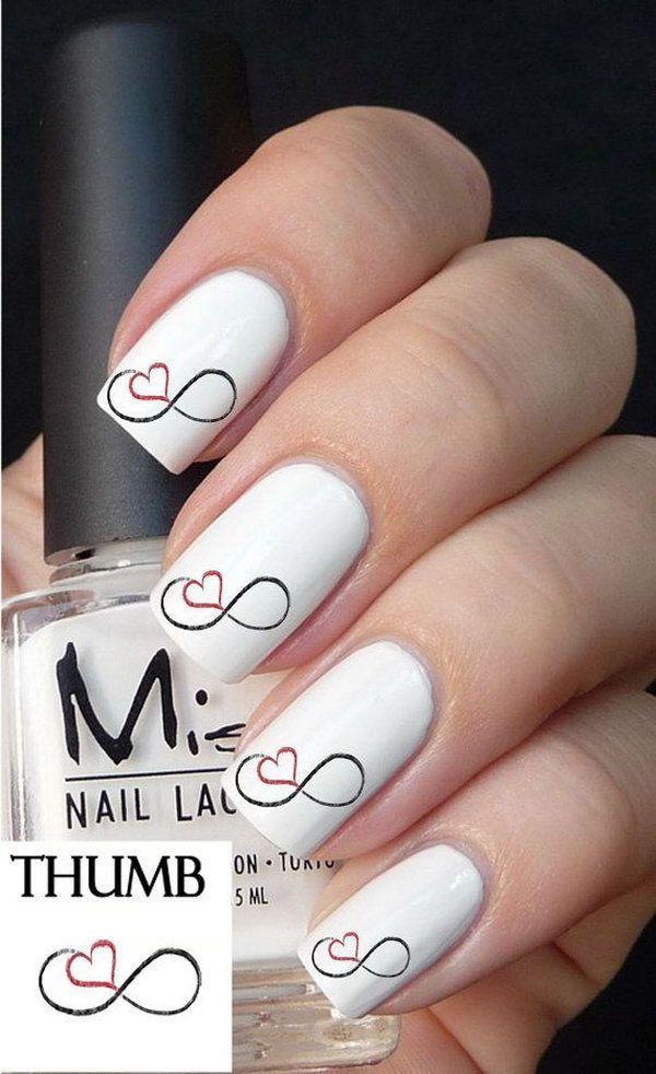 nice Infinity Nail Designs