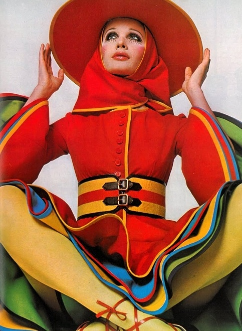 Gerard Pipart for Nina Ricci. Photo, David Bailey, 1968