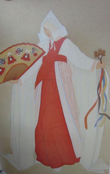 Korean Shaman Clothes