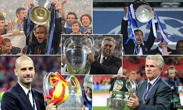 Ancelotti is the latest boss to be struck by Champions League curse