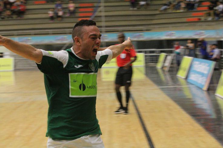 Daniel Bolívar, goleador de la Liga Argos Futsal  2016-1..